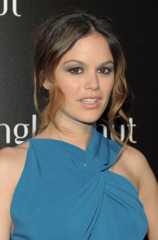 Sexy Casual Messy Ombre Updo For Ladies Rachel Bilson