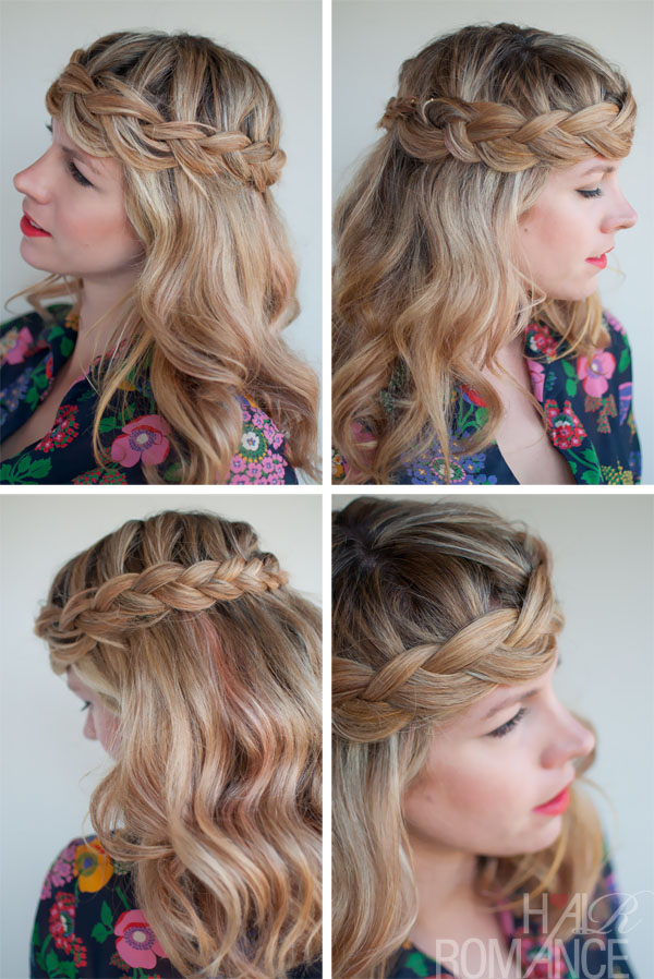 Romantic Crown Braid - Perfect Braid Crown for Long Hair