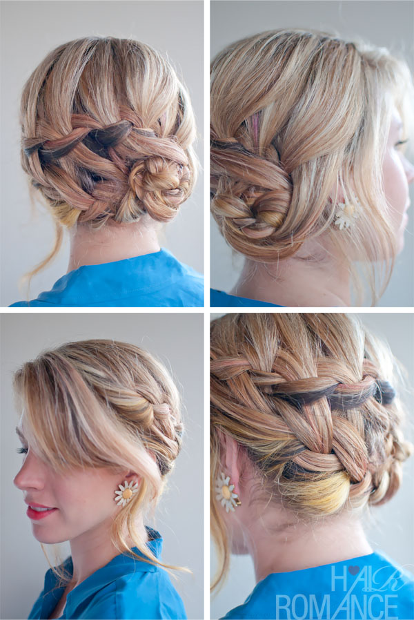 Romantic Double Waterfall Braid