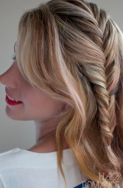 Brilliant Romantic French Fishtail Side Braid Hairstyles Weekly Short Hairstyles For Black Women Fulllsitofus