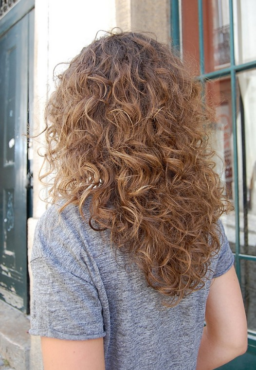 Curly Ombre Hair for Women Romantic Long Curly Ombre Hair for Wedding ...