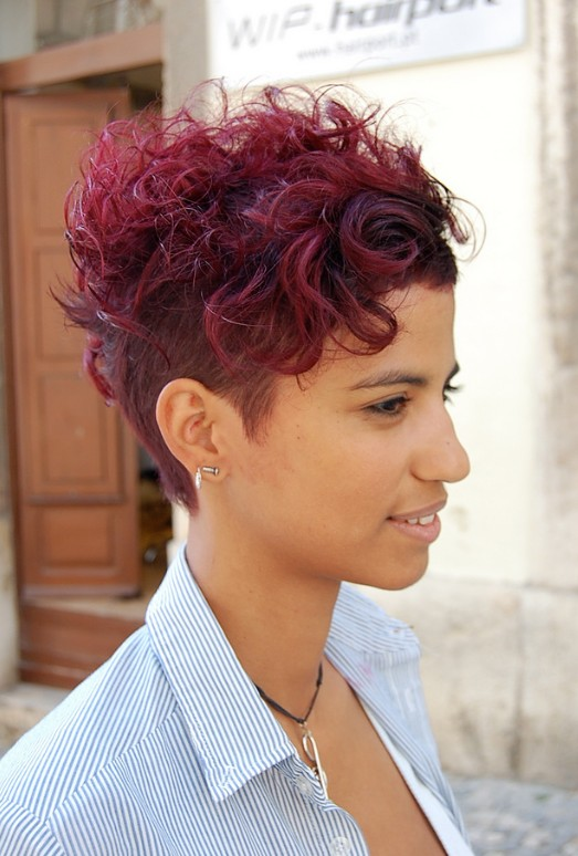 Wow Short Sassy Sexy A Red Hot Cut Hairstyles Weekly