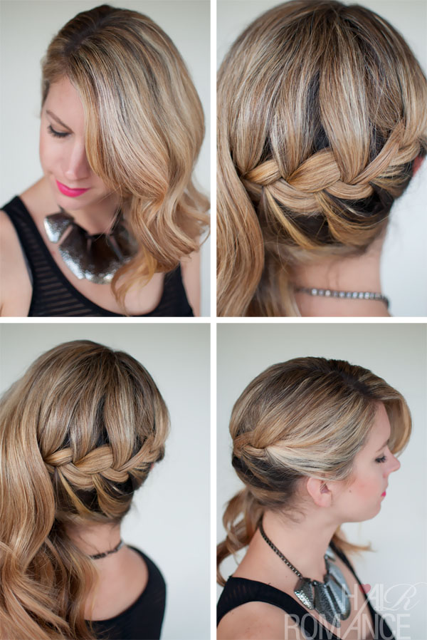Fantastic Faux Hawk Roll With Dutch Braid Sides And Pink Badass Braids Hairstyle Inspiration Daily Dogsangcom