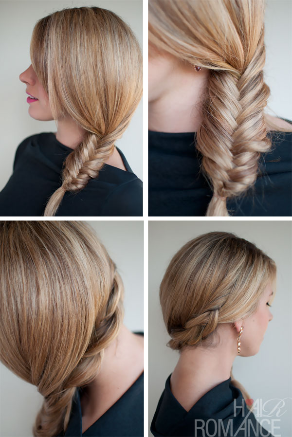 Simple Casual Side Fishtail Braid - Super Easy Casual Side Fish Tail Braid