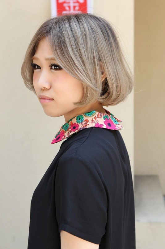 Stylish Japanese Girls Short Bob Hair Styles - Simple Easy Daily Hairstyles