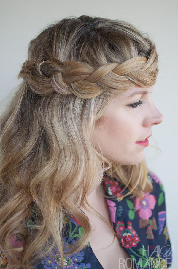 Romantic Crown Braid For Long Hair Perfect Braid Crown Hairstyles Weekly