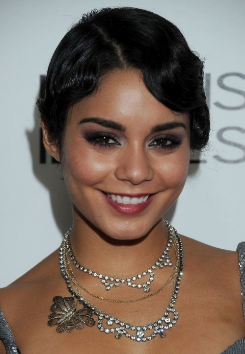 Vanessa Hudgens 1920 Finger Wave Hairstyle