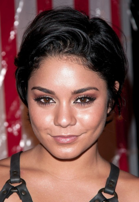 Vanessa Hudgens Layered Loose Curly Razor Cut
