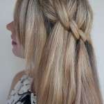 Beautiful Waterfall Twist Hairstyles - 2013 Hair Trends - Summer Hairstyle Ideas