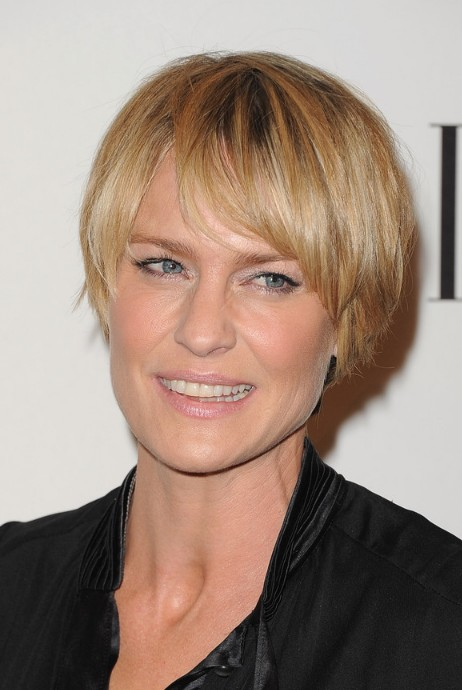 Choppy Razor Cut for Mature Lady – Robin Wright Penn Hairstyles