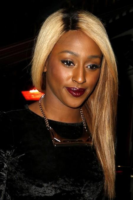Blonde Ombre Hair Black Women