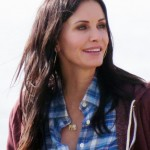 Courteney Cox Long Beachy Wavy Cut