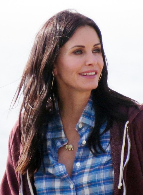 2013 Casual Hairstyle Courteney Cox Long Wavy Hairstyle