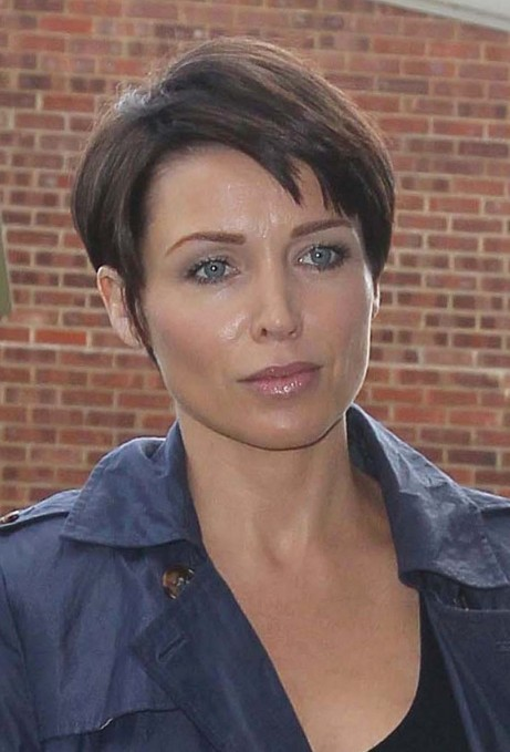 Dannii Minogue Short Boyish Hairstyle for Mature Women