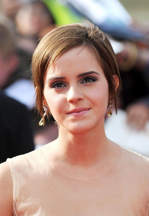 Emma Watson with Bangs