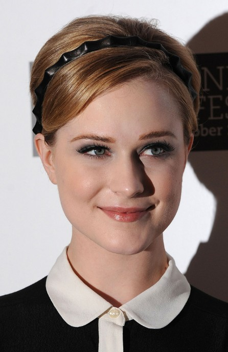 Evan Rachel Wood Pixie Cut with Headband