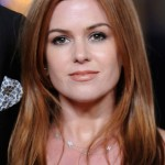 Isla Fisher Hairstyles - Sexy Fire Red Locks for Winter