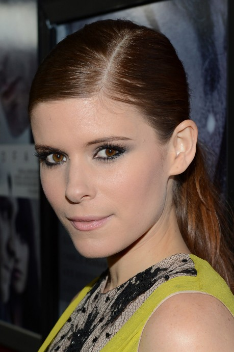 Terrific Side Parted Classic Loose Ponytail For Summer Days Kate Mara Short Hairstyles Gunalazisus