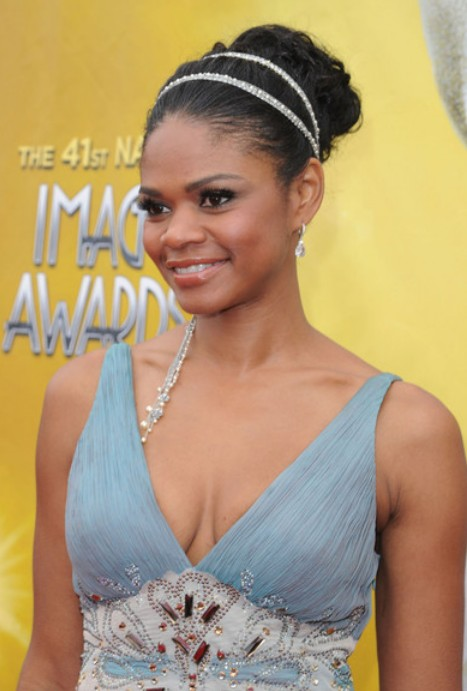 Kimberly Elise Black Updo Hairstyle for Prom