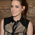 Kristen Stewart Messy Ponytail for Long Hair