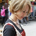 Lovely Short Japanese Hairstyles 2013