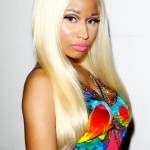 Nicki Minaj Long Blonde Straight Hairstyle