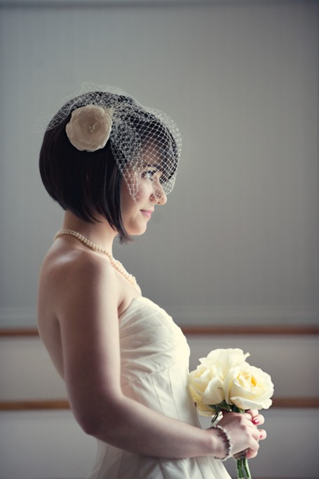 Short Bridal Hair Styles