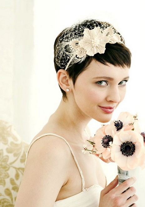 Short Wedding Hairstyles 2014