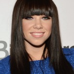 Simple Easy Daily Hairstyle from Carly Rae Jepsen