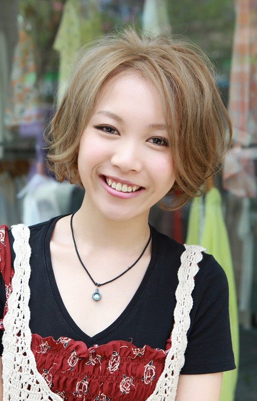 Sweet Japanese Girls Bob Hairstyle 2013 - 2014