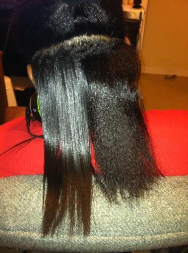 ... HSI The Styler Ceramic Tourmaline Ionic Flat Iron Hair Straightener