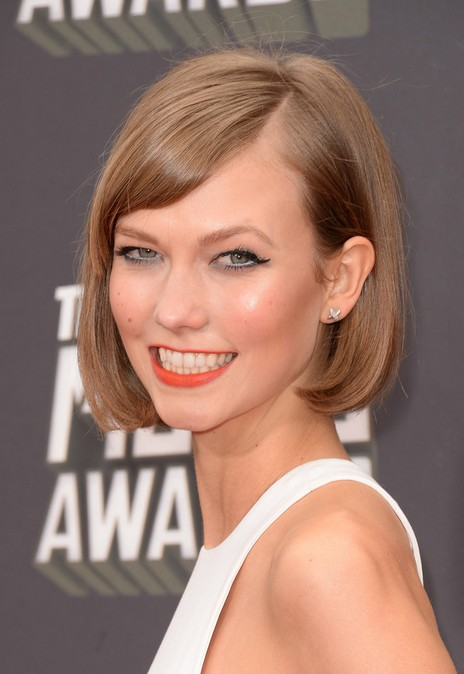 Karlie Kloss Short Haircut Bob Hairstyle for 2014