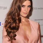 Ashley Greene Long Brown Wavy Hairstyles 2014