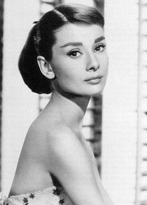 Sophisticated Amp Young Updo Audrey Hepburn Hairstyle