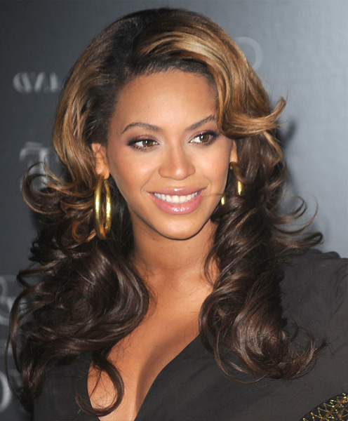 Breath Taking Golden Highlights Amp Waves Long Wavy