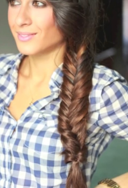 How To Do A Fishtail Braid Everyday Fishtail Braid