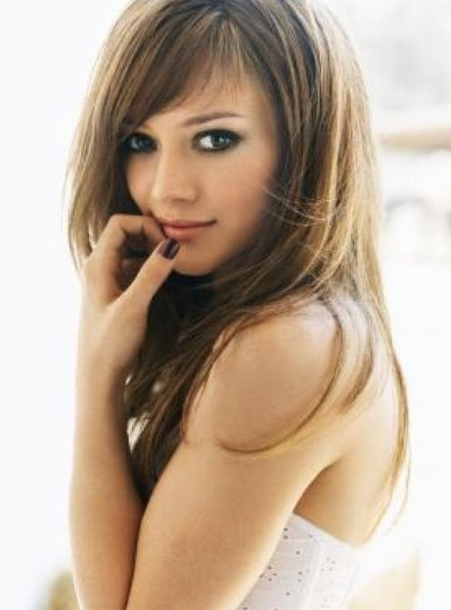 Hilary Duff cute long hairstyle for girls