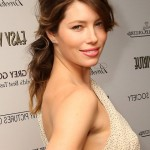 Jessica Biel Casual Loose Wavy Hairstyle