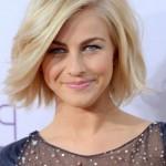 Julianne Hough Latest new hairstyle: short blonde bob haircut