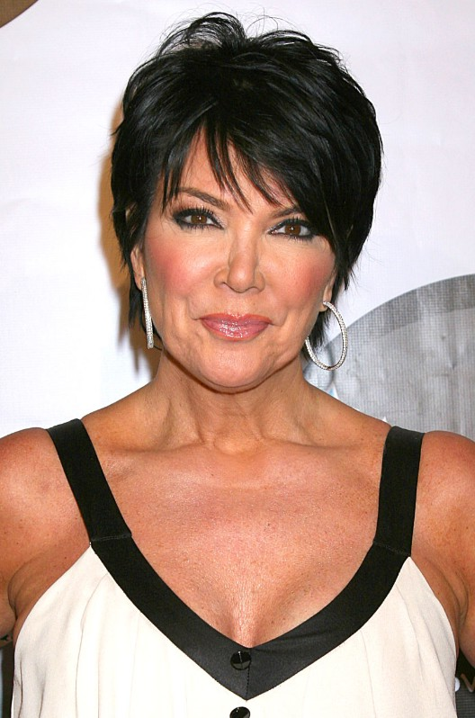 Summer Short Haircut For Women Over 50 Dark Pixie With Fringe From