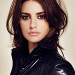 Trendy Fashionable messy long faux bob hairstyle Penelope Cruz Hairstyle