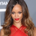 Long ombre hairstyle for women Rihanna hairstyles