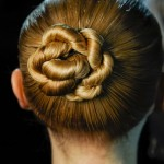 Hairstyle ideas for summer 2013 - 2014 Sleek Twisty Central Chignon