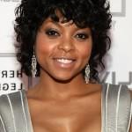 Short curly hairstyle for black women: Taraji P. Henson hairstyles