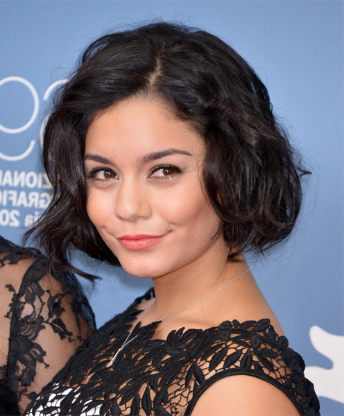 Cute short bob haircut for firls: Vanessa Hudgens Hairstyles