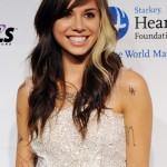 Trendy hair color - Christina Perri hairstyle