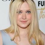 Long Straight Hairstyle with Headband - Dakota Fanning's Hairstyle