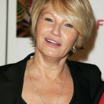 Short hairstyle for women over 50: Ellen Barkin's haircut