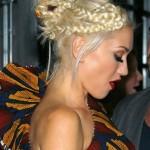Cute braided updo for women - Gwen Stefani's Hairstyle