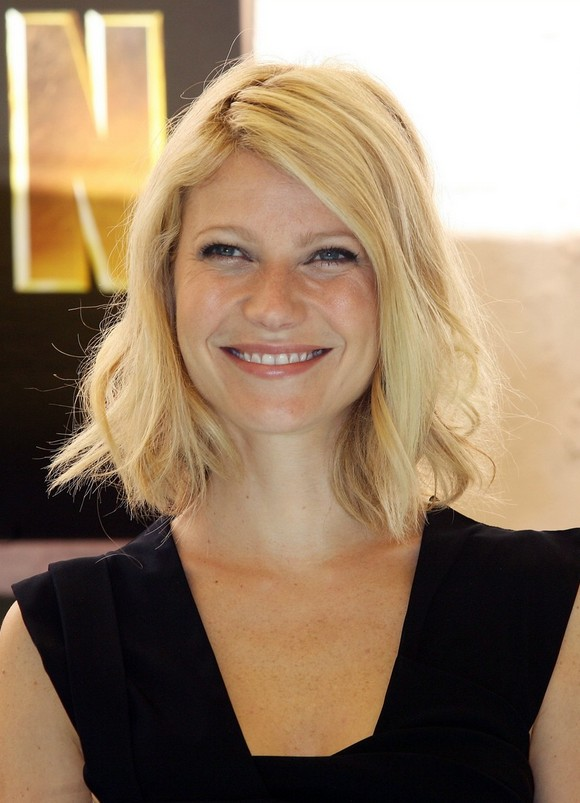 Long Bob Hairstyle With Casual Half Done Twists Gwyneth